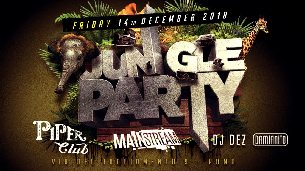 Piper Club Roma | Jungle Party
