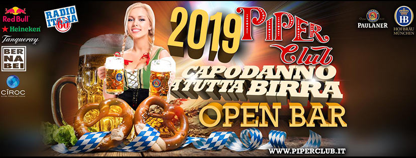 Capodanno Piper Club 2019
